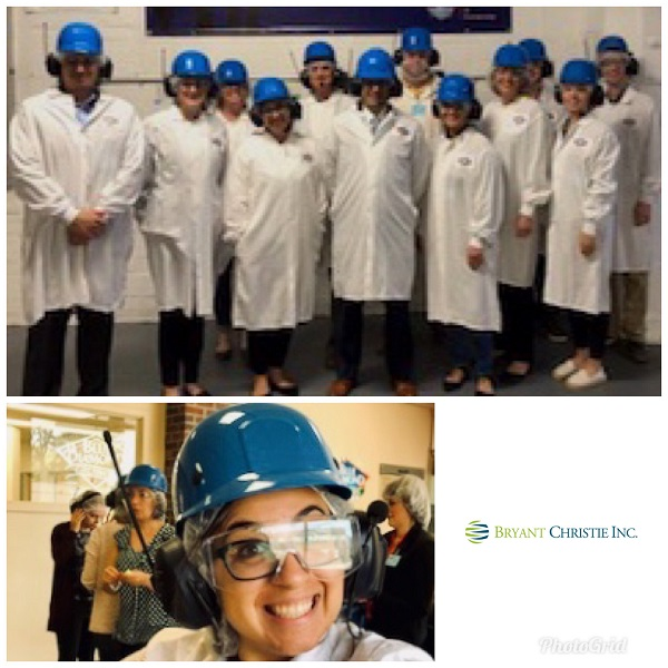 BCI Staff Tour Blue Diamond Packing Plant