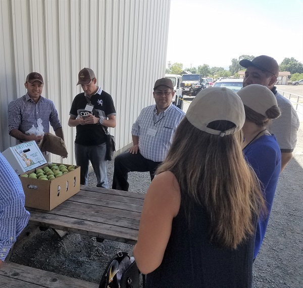 Bryant Christie Inc. leads reverse trade mission to promote California pears