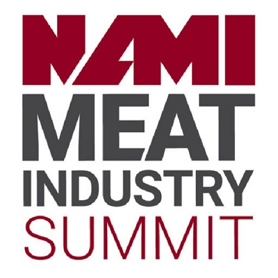 Tye Blazey speaks at the North American Meat Institute Summit