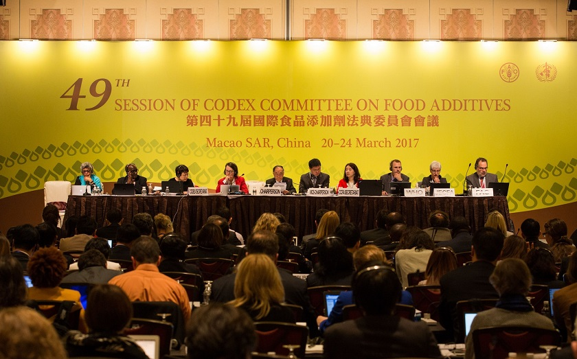 BCI Attends Codex Committee on Food Additives Meeting in Macau