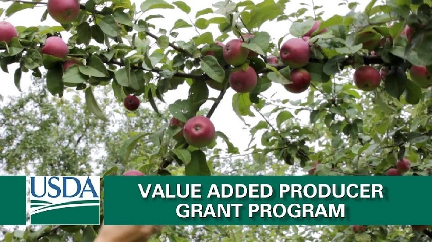 USDA Announces Value-Added Producer Grant for 2017-18