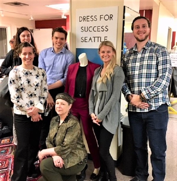 BCI volunteers with Dress for Success